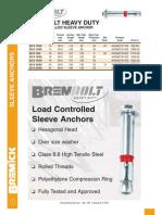 BREMBOLT Load-controlled Anchor