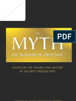 Myth of National Defense, The Essays on the Theory and History of Security Production