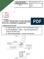 Geometrie Des Outils Bac TU Eleve