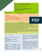 Drug Information Bulletin 07 07
