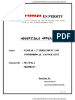Advt Appeals