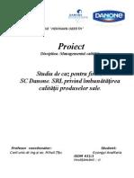 Proiect-Managementul Calitatii-Gyongyi Anamaria IEDM 321