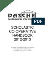 Co Op Handbook 2012 13