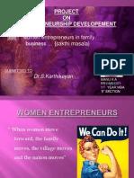 EDM Women Entrepreneurs