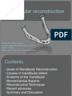 Mandibular Reconstruction