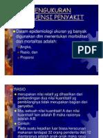Manajemen Slide Pengukuran Frekuensi Penyakit