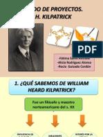 Método de proyectos. Trabajo grupal. Alicia Rodríguez Alonso, 2º Magisterio Primaria A. Tendencias Contemporáneas de la Educación.