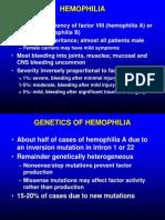 Hemophilia VWD