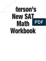 (M) Master Math for the SAT 1st Edition {Crouch88}
