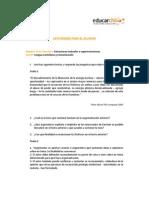 EJERICIOOS ESTUDIANTES Estructuras Textuales o Superestructuras