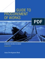 ADB Users Guide - Procurement of Works