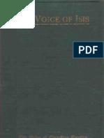 The Voice of Isis - Harriette Augusta & Homer Curtiss (1914)