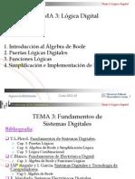TEMA 3 - Fundamentos de Sistemas Digitales