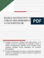 Cap 1 Modelul Matematic