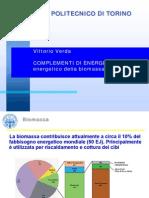 Complementi Di Energetica - Biomassa 2012