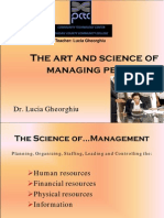 The Art and Science of Managing People Lucia