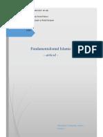Fundamentalismul Islamic