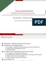 Economie indusrielle Structure Pouvoir Marche