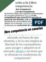 Derecho a La Libre Competencia