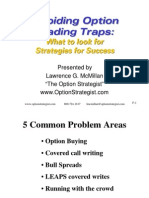Avoiding Option Trading Trap