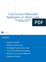 Line Current Differential Protection