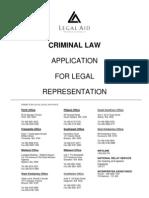 Legal Aid Application