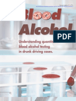 Alcohol Blood Testing