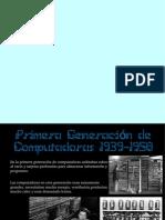 Generaciones de Computadoras.