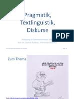 Pragmatik-Vorlesung