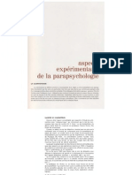 Yvonne Duplessis - Aspects expérimentaux de la parapsychologie