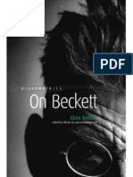Alain Badiou on Beckett