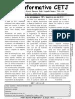 02 Informativo CETJ Fevereiro de 2013