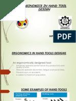 Abhinavergonomics in Hand Tools Designs