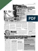 La tituralisation de Bénié remise en cause