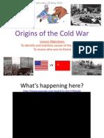 Origins of the Cold War Presentation