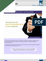 Training & Placement Details-Technocrat Automation