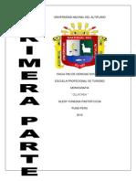 Universidad Nacinal Del Altiplano