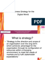Business Strategy for the Digital World