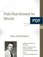 Fish Nutritionist in World