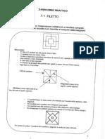 """Percoso didattico sul gioco denominato """"Filetto"""" - Giochi di tavoliere classe 3°"""