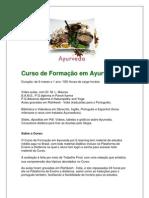 Curso de Formação em Ayurveda