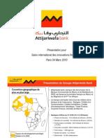 Présentation du Groupe Attijariwafa Bank