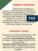 exposicion  de compañia  yanacocha  - Proceso-del-Oro