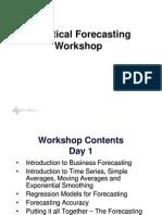Forecasting Seminar