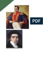 Retrato de Simón Bolívar a la edad de 17 años