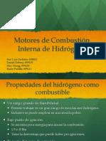 Motores de Combustión de Hidrógeno, Presentación de Bioingeniería