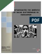Contaminacion Por Arsenico en Bangladesh