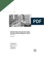Cisco Admin Console
