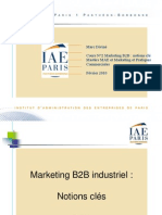 COURS N°A3 Marketing Industriel Notions clés F57