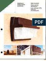 Holophane Wallpackette Series Brochure 8-77